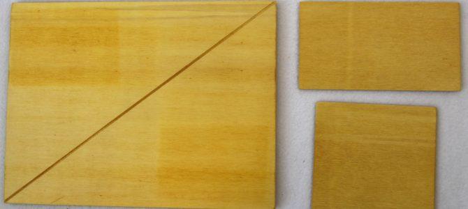 Sind Rechteck und Quadrat gleich groß? – Logisch!
