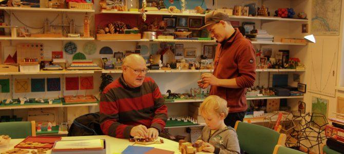Mathothek – Interaktives Experimentieren für drei Generationen